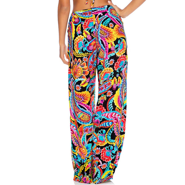 MOON NIGHTS - Split Side Wide Leg Pant