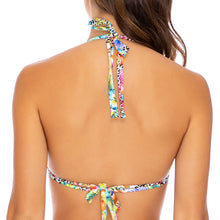 LULI'S JUNGLE - Triangle Halter Top