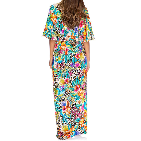 LULI'S JUNGLE - Long Open Tunic