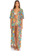 LULI'S JUNGLE - Long Open Tunic • Multicolor