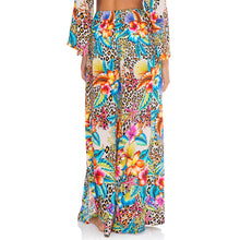 LULI'S JUNGLE - Open Sides Wide Leg Pant