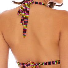 JUNGLE GLOW - Triangle Halter Top
