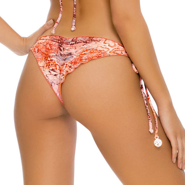 SKINS - Wavey Ruched Back Tie Side Bottom