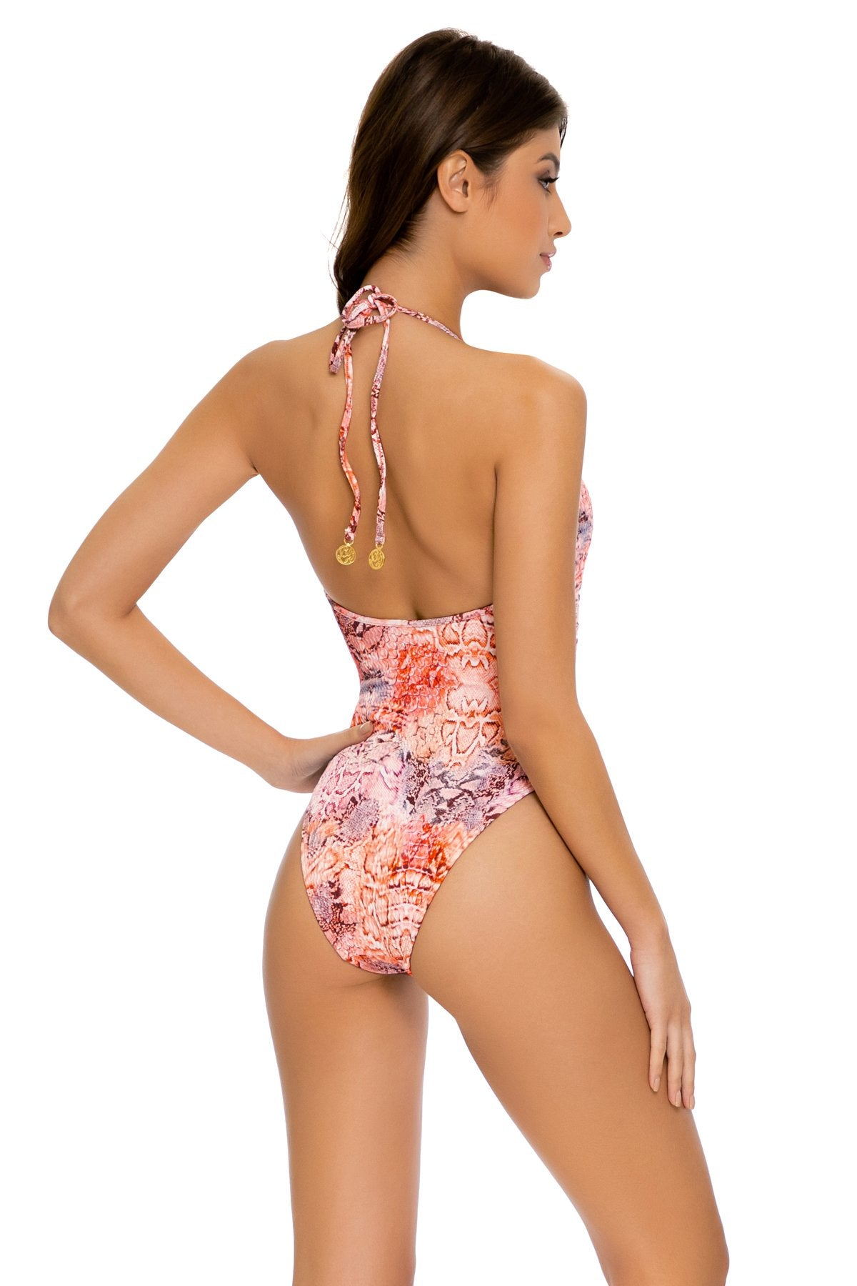 SKINS - One Piece Bodysuit • Coral Snake
