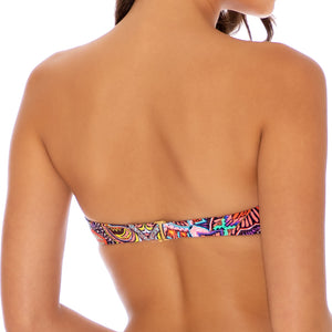 TIKI BABE - Underwire Push Up Bandeau Top