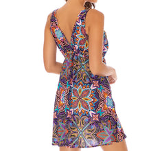 TIKI BABE - V Neck Short Dress