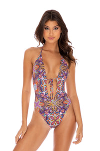 TIKI BABE - One Piece Bodysuit • Multicolor