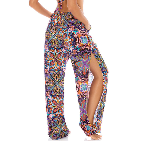 TIKI BABE - Split Side Wide Leg Pant