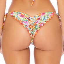 WILD FLOWER - Wavey Ruched Back Tie Side Bottom
