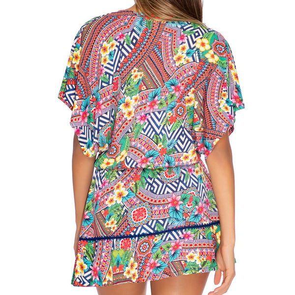 LULI TRIBE - Playera Ruffle Dress