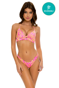 WILD SWEETHEART - Underwire Top & High Leg Bottom • Multicolor