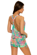 LEMONADE RUSH - T Back Mini Dress • Multicolor
