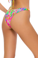 LEMONADE RUSH - Multiway Scrunched Cup Bandeau & High Leg Bottom • Multicolor Campaign