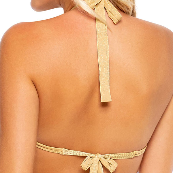 GODDESS ALLURE - Triangle Halter Top