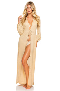 GODDESS ALLURE - Long Tunic • Gold Rush