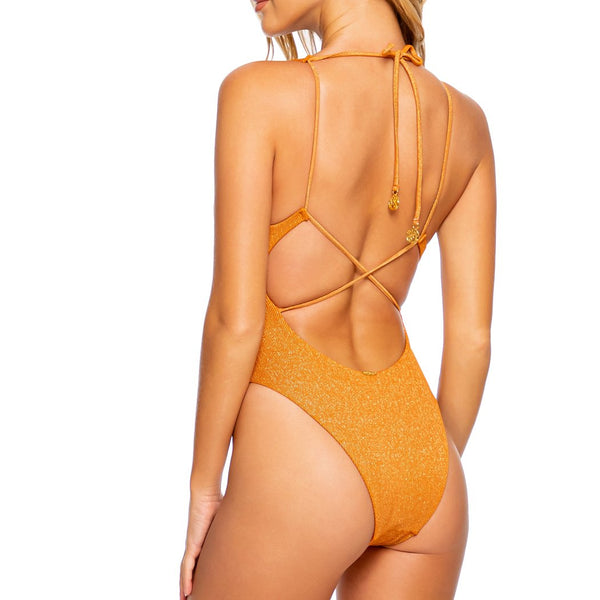 LULI DIVA - V Neck One Piece Bodysuit