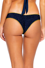 STARDUST - Triangle Top & Seamless Wavy Ruched Back Bottom • Midnight Blue Campaign
