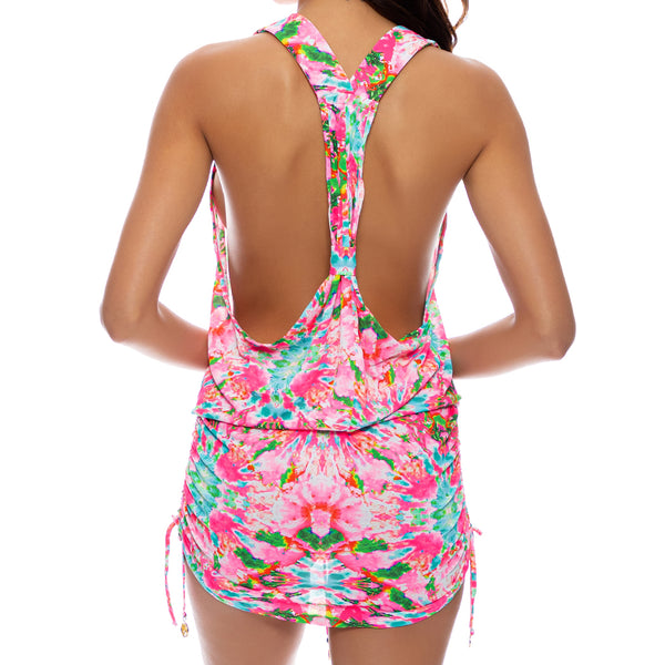 OCEAN DRIVE EUPHORIA - T Back Mini Dress