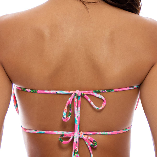 OCEAN DRIVE EUPHORIA - Multiway Scrunched Cup Bandeau