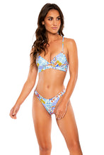 AY QUE CUTE! - Underwire Top & High Leg Brazilian Bottom • Multicolor