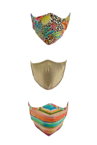 PRE PACK MASK - Summer Luli Babe Trio • Multicolor