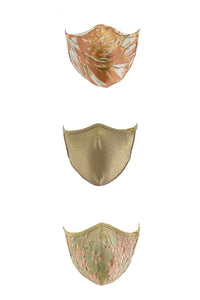 PRE PACK MASK - Golden Luli Babe Trio • Multicolor