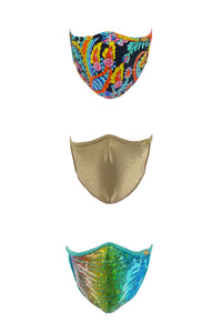 PRE PACK MASK - Luli Babe Mixed Trio • Multicolor