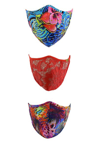 PRE PACK MASK - Stand Out Luli Babe Trio • Multicolor