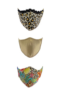 PRE PACK MASK - Fierce Luli Babe Trio • Multicolor