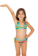 HOLA VERANO - Triangle Full Bikini Set • Multicolor