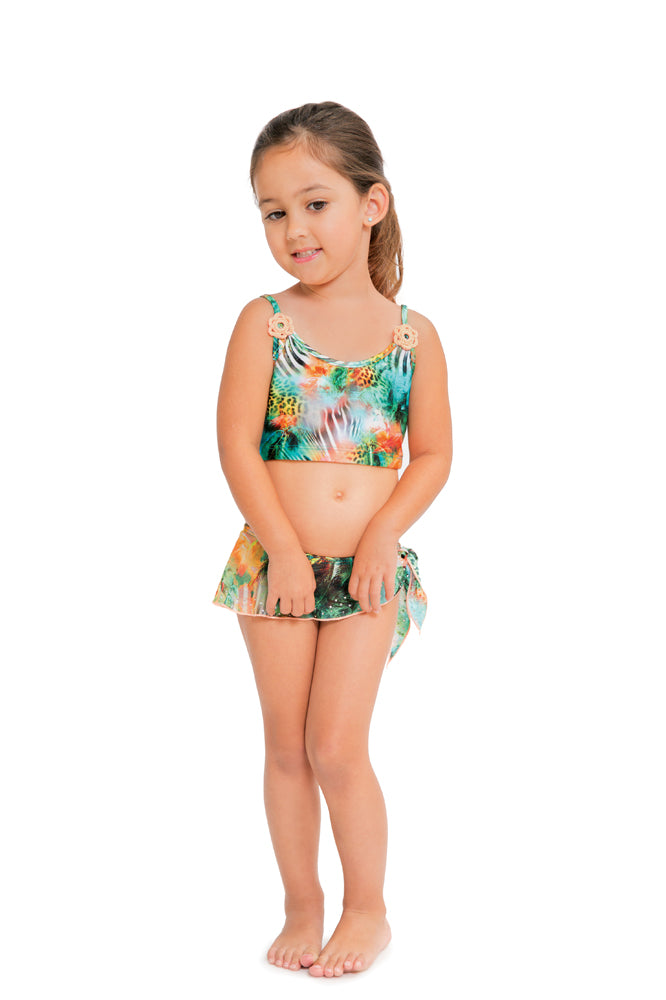 MIAMI NICE T - Bow Tankini Set • Multicolor