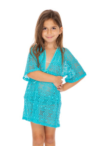 MIAMI NIGHTS - Short Tunic • Aruba Blue (3952438280294)