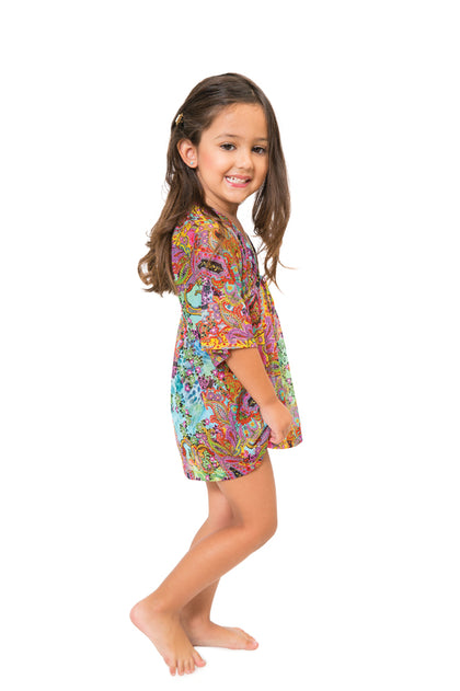 TORNASOL - Short Tunic • Multicolor