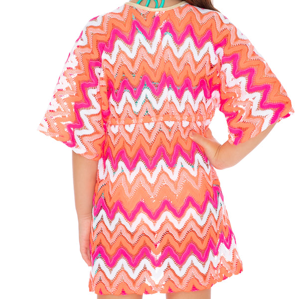 FLAMINGO BEACH T - Short Tunic