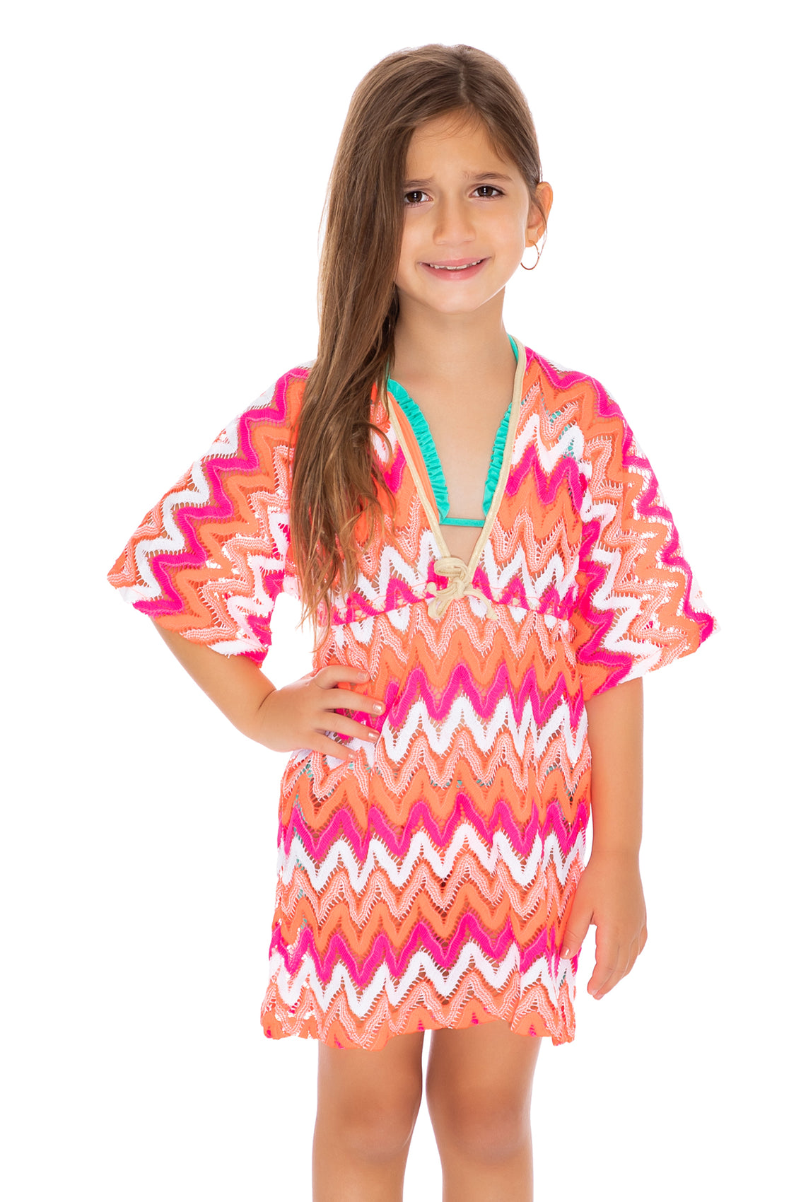FLAMINGO BEACH T - Short Tunic • Multicolor