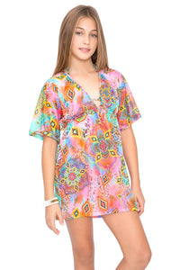 BOHO CHIC - Short Tunic • Multicolor