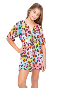 SALTY SKIN - Short Tunic • Multicolor