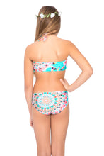 DREAM CATCHER - Cascade Halter Top Bikini • Multicolor