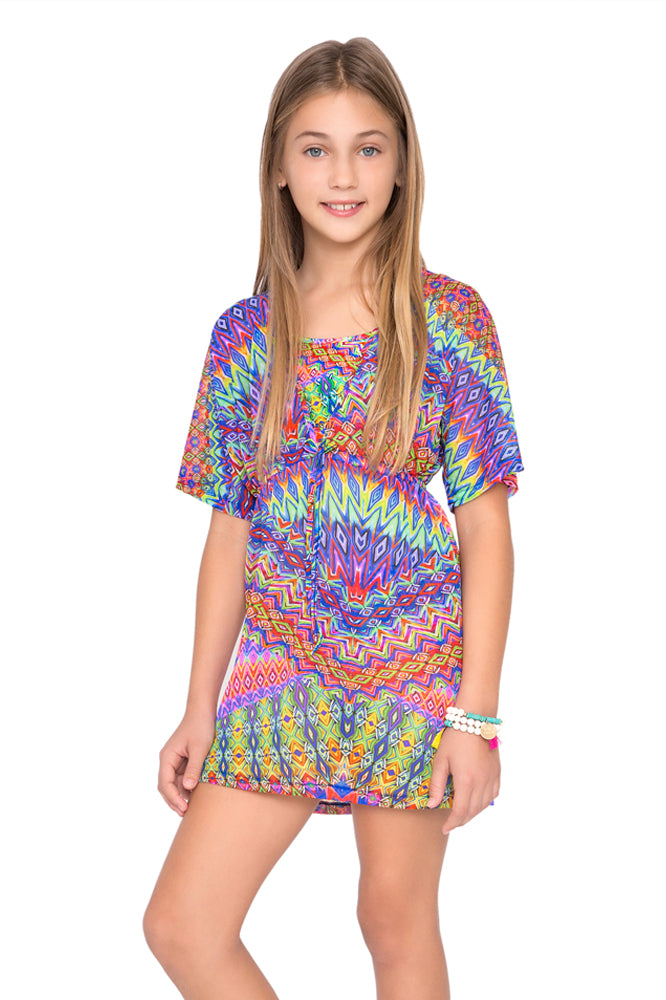 FREE LOVE - Short Tunic • Multicolor