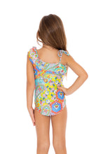 SIREN DANCE - One Shoulder Ruffled One Piece • Multicolor