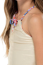 BELLAMAR - Reversible Braided One Piece • Multicolor