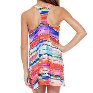 BELLAMAR - T Back Short Dress