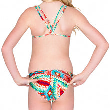WILD HEART - Criss Cross Back Halter Top Bikini