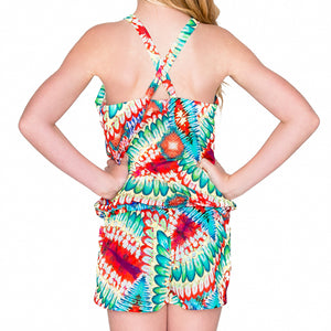WILD HEART - Cross Back Romper