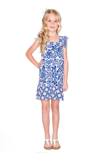 NAUGHTY GIRL - Ruffle Short Dress • Multicolor