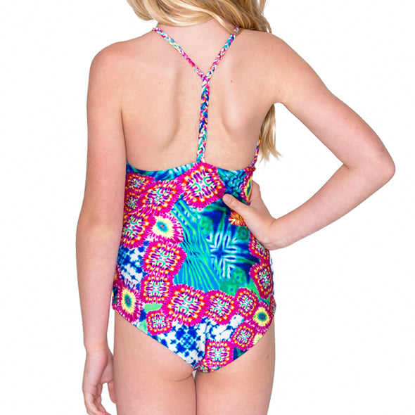 BEAUTIFUL MESS - Reversible Braided One Piece