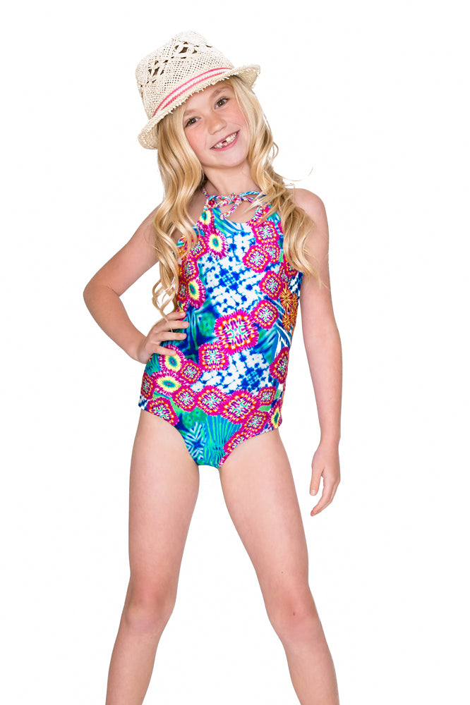 BEAUTIFUL MESS - Reversible Braided One Piece • Multicolor