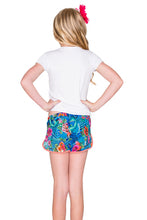 INKED BABE - Sporty Tee Ink Mesh Short • Multicolor