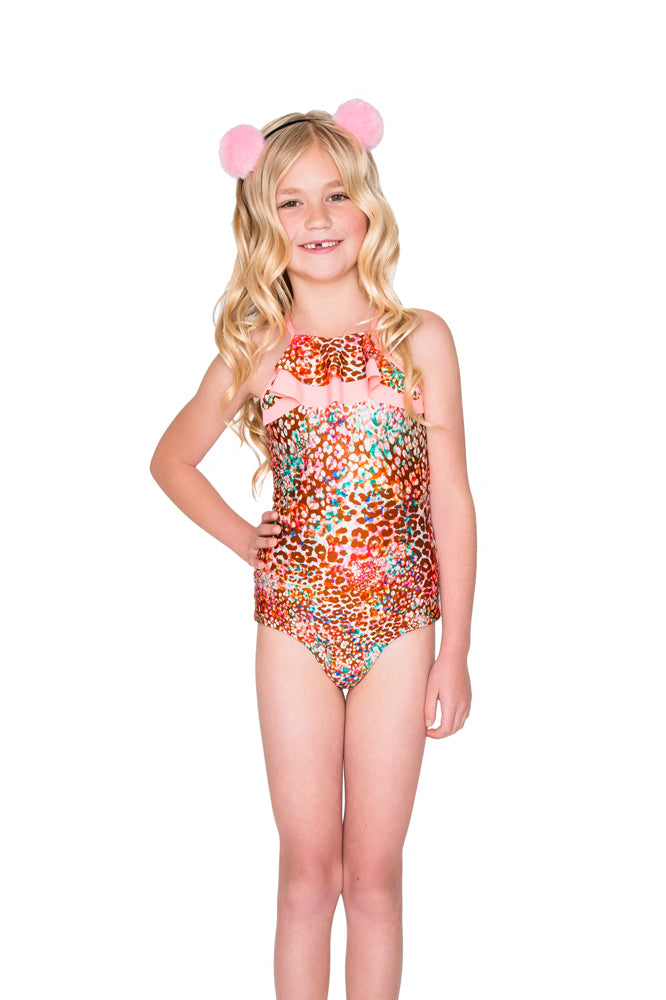 UNTAMEABLE - Ruffle Layered One Piece • Multicolor