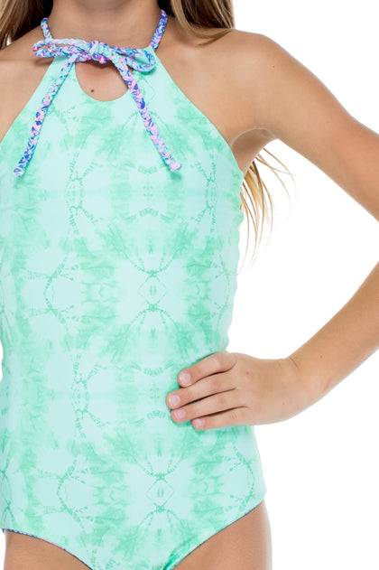 PALMARES - Reversible Braided One Piece • Multicolor
